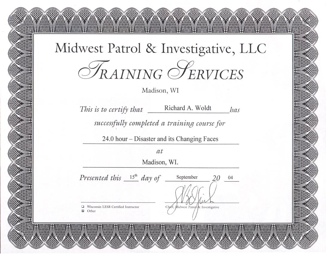 Providing Rm Training
